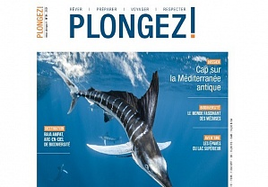"Read about ""The Arctic Circle"" Dive Center in ""Plongez !"" magazine"